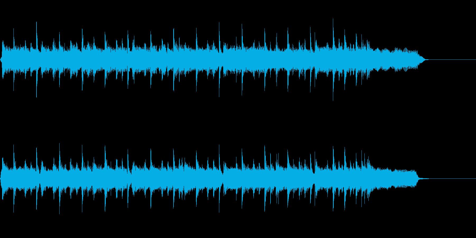 主張しすぎないロック系ジングル・キーAの再生済みの波形