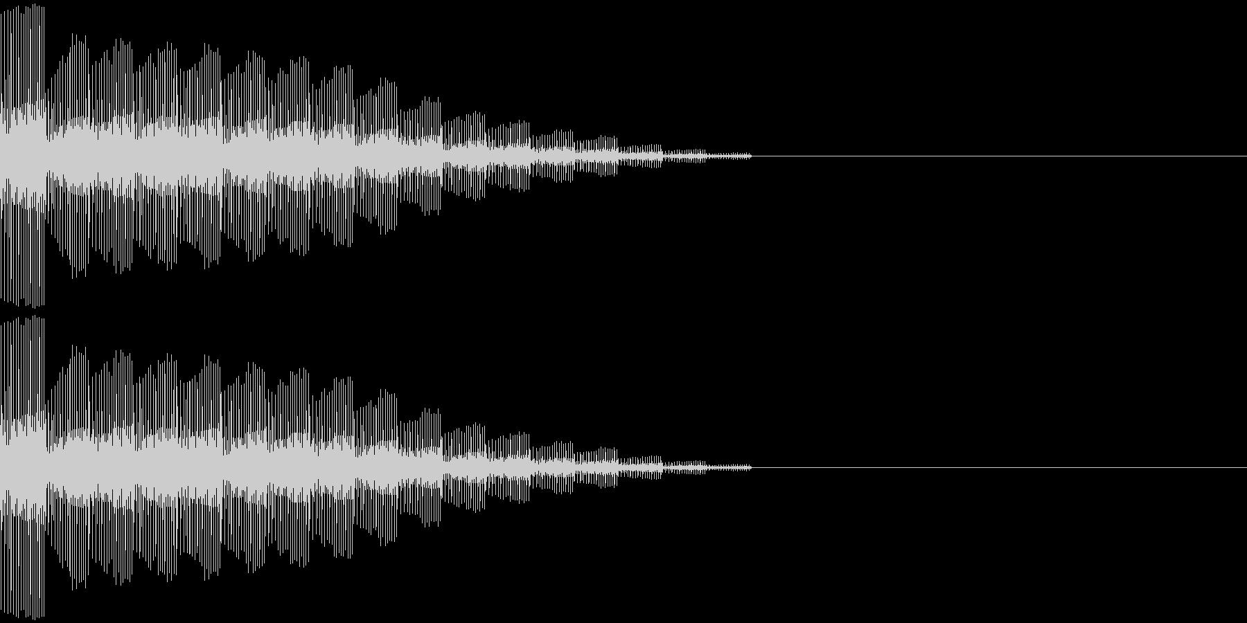 ピロロロロロンの未再生の波形
