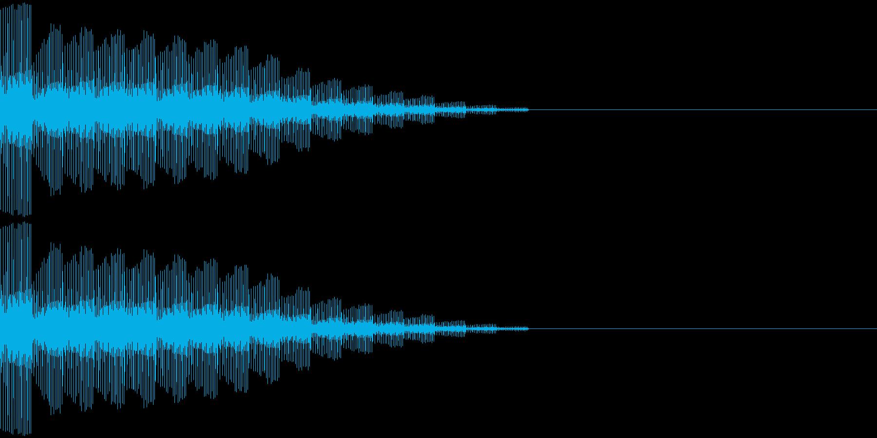 ピロロロロロンの再生済みの波形