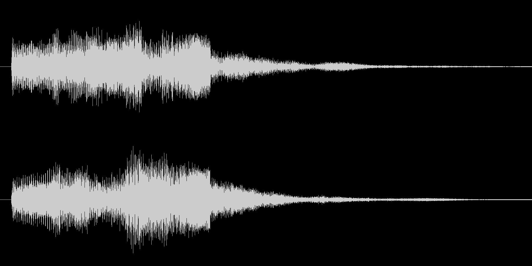 ドゥリリリ 2の未再生の波形