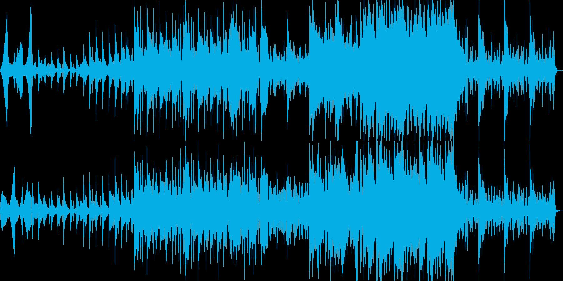 ピアノメインのエレクトロニカです。の再生済みの波形