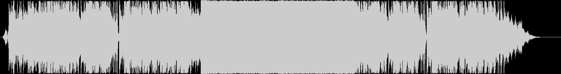 エンディング映像向きボコーダーエレクトロの未再生の波形