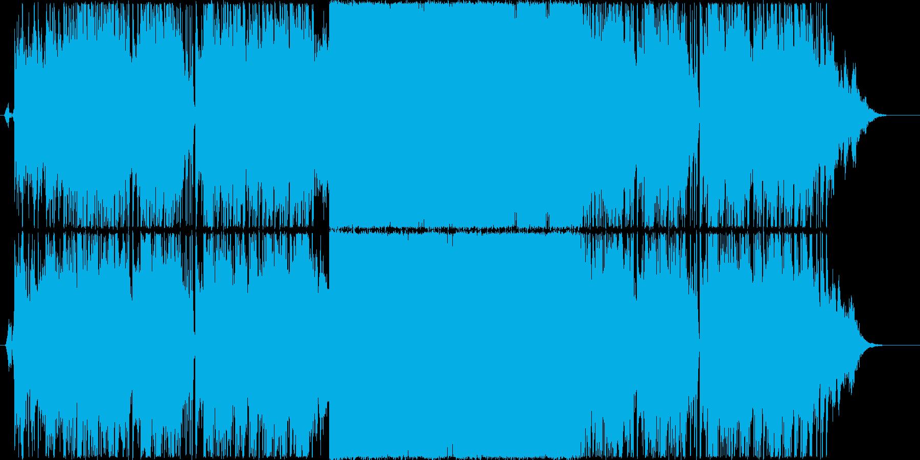 エンディング映像向きボコーダーエレクトロの再生済みの波形