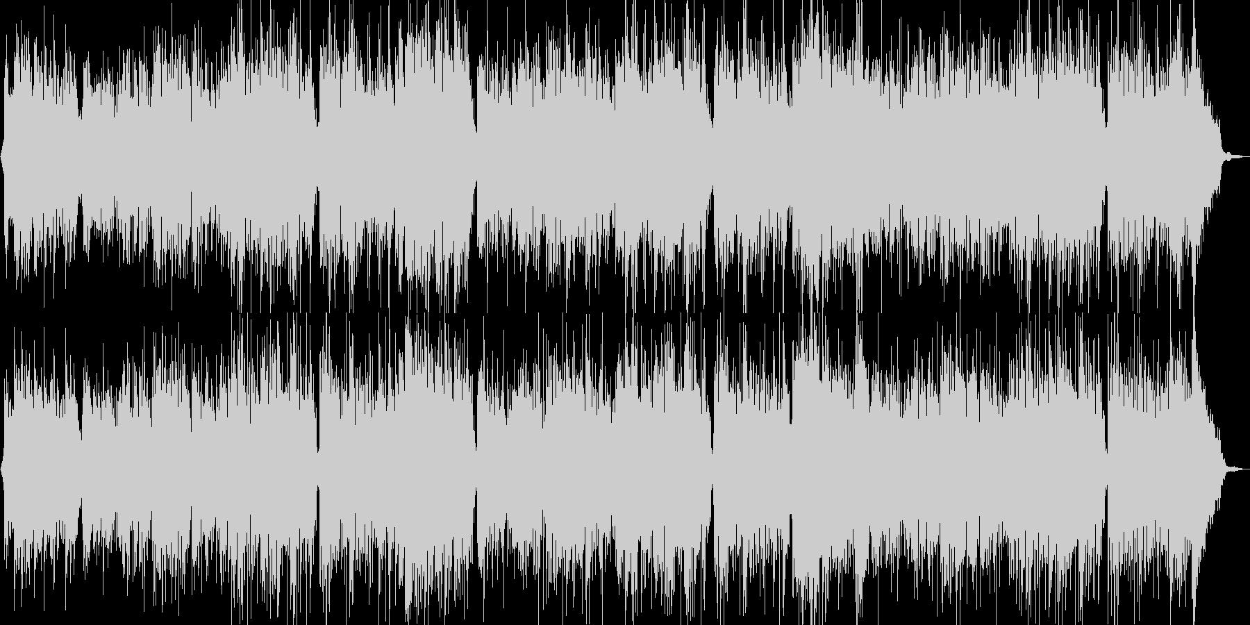 浜辺の歌のギターが印象的なカラオケの未再生の波形