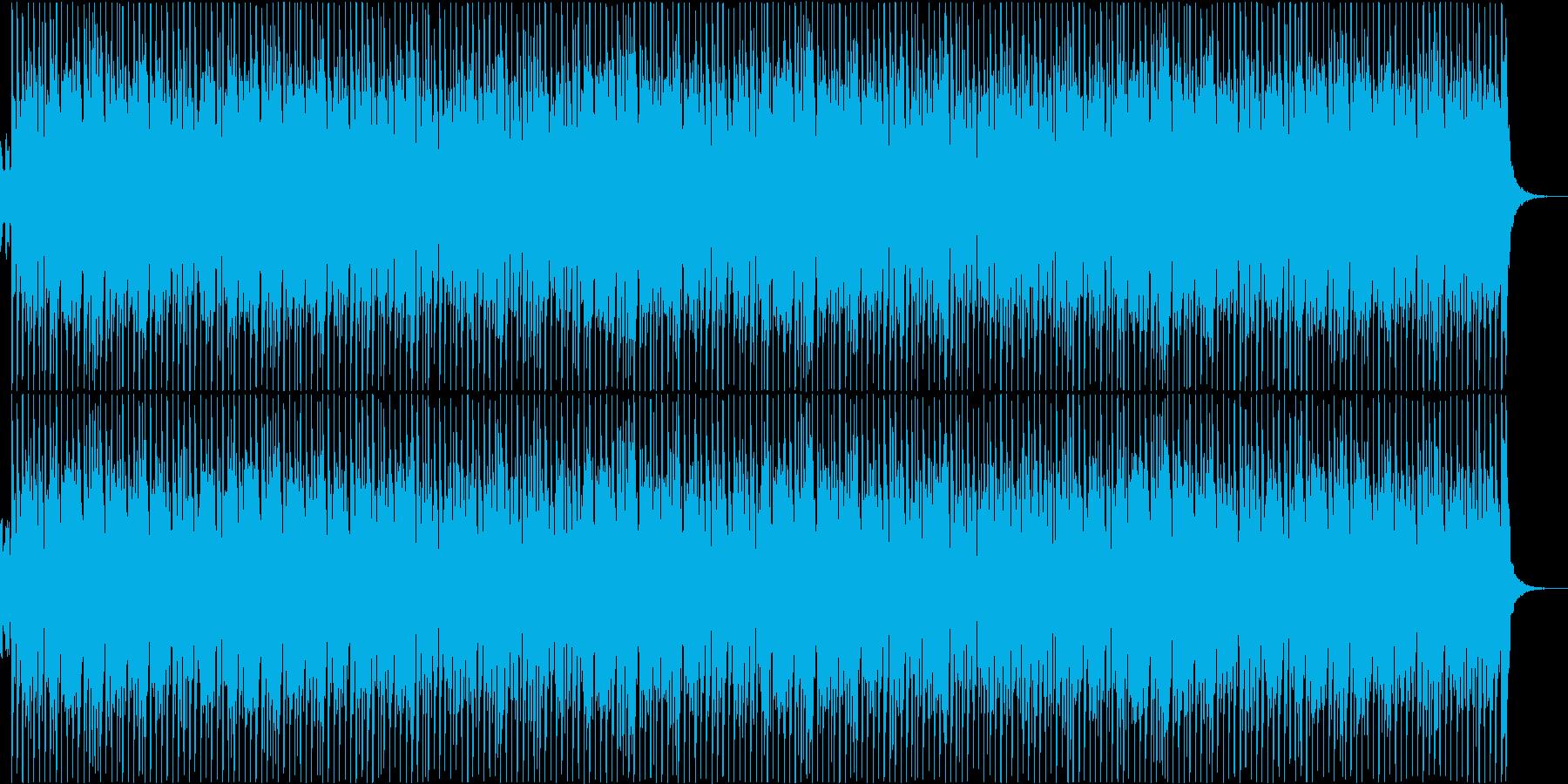 軽快、爽やかアップBGM①。紹介動画などの再生済みの波形