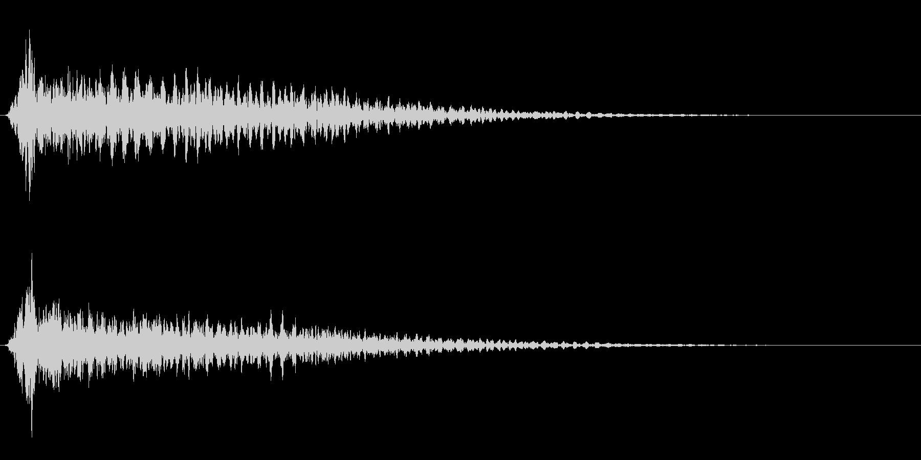 サスペンスに最適!ピアノの弦を弄ぶ音24の未再生の波形