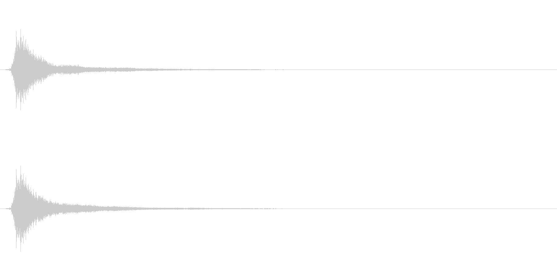 サウンドロゴ(企業ロゴ)_011の未再生の波形