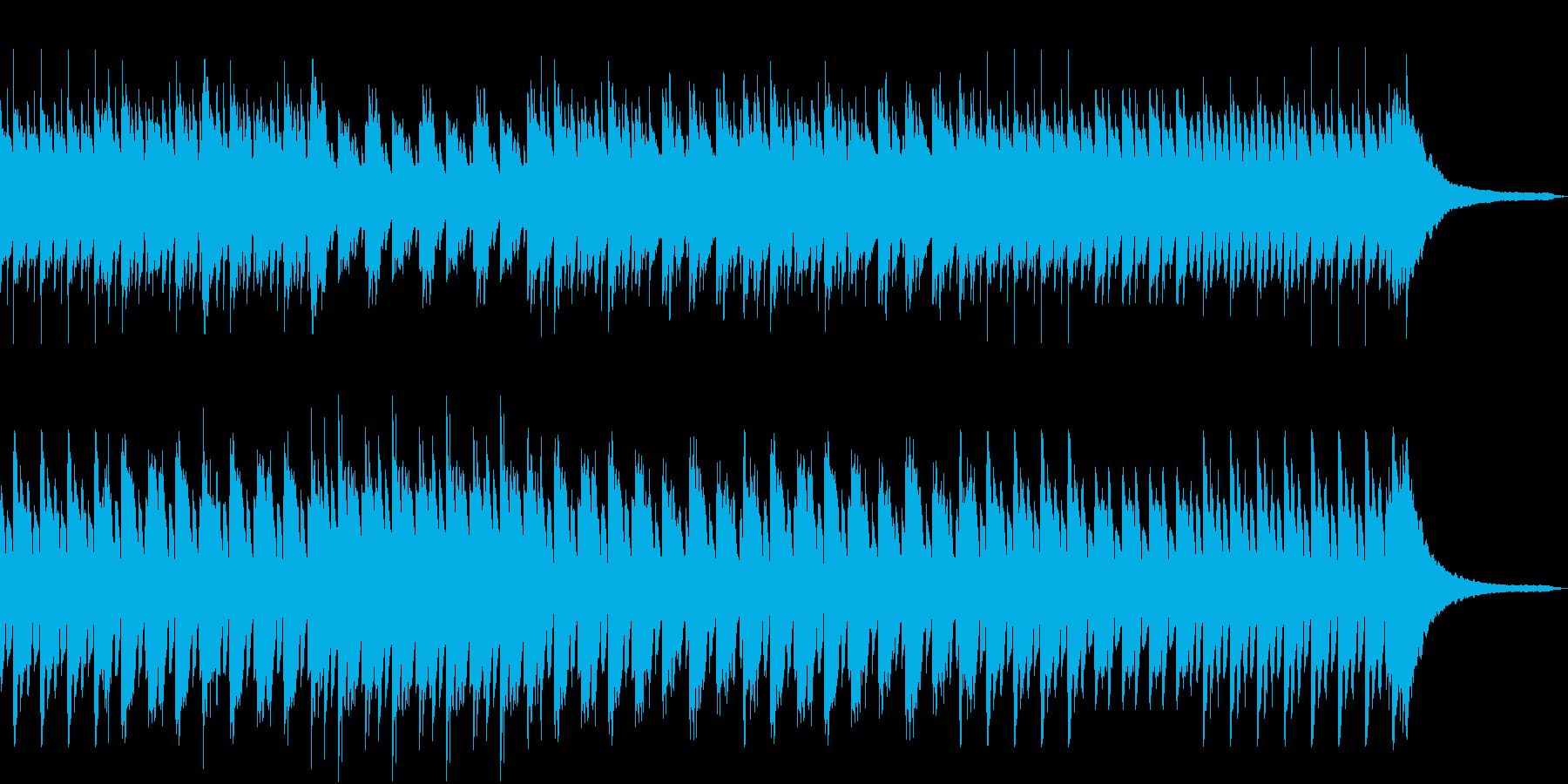 童話的な明るいピアノ音源の再生済みの波形
