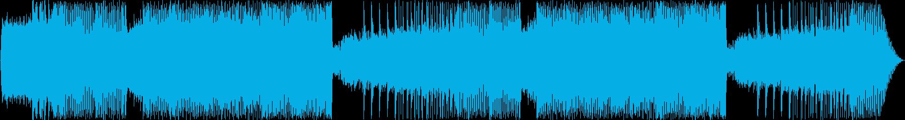 メタル系インストです。ギター中心の前半…の再生済みの波形