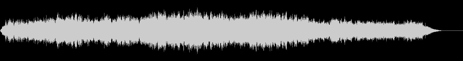 対位法による弦楽合奏曲1の未再生の波形