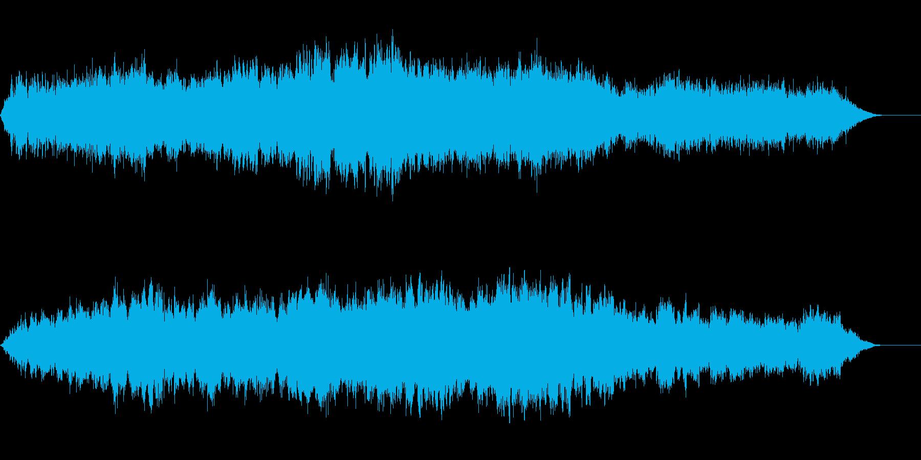 対位法による弦楽合奏曲1の再生済みの波形
