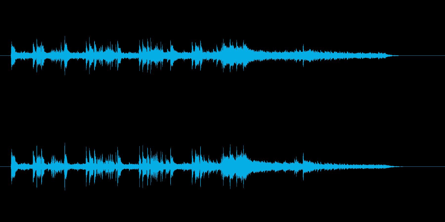 ちょっとしたオープニング向きポップの再生済みの波形