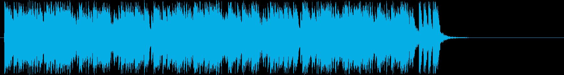 30秒車のCMのイメージですの再生済みの波形