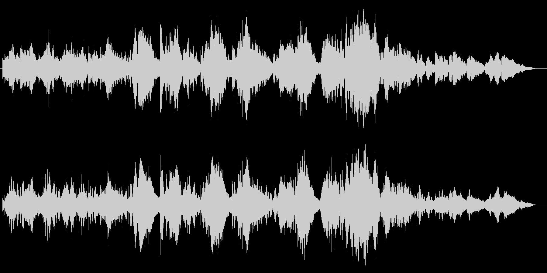 ソプラノサックスとキーボードのデュオ・…の未再生の波形