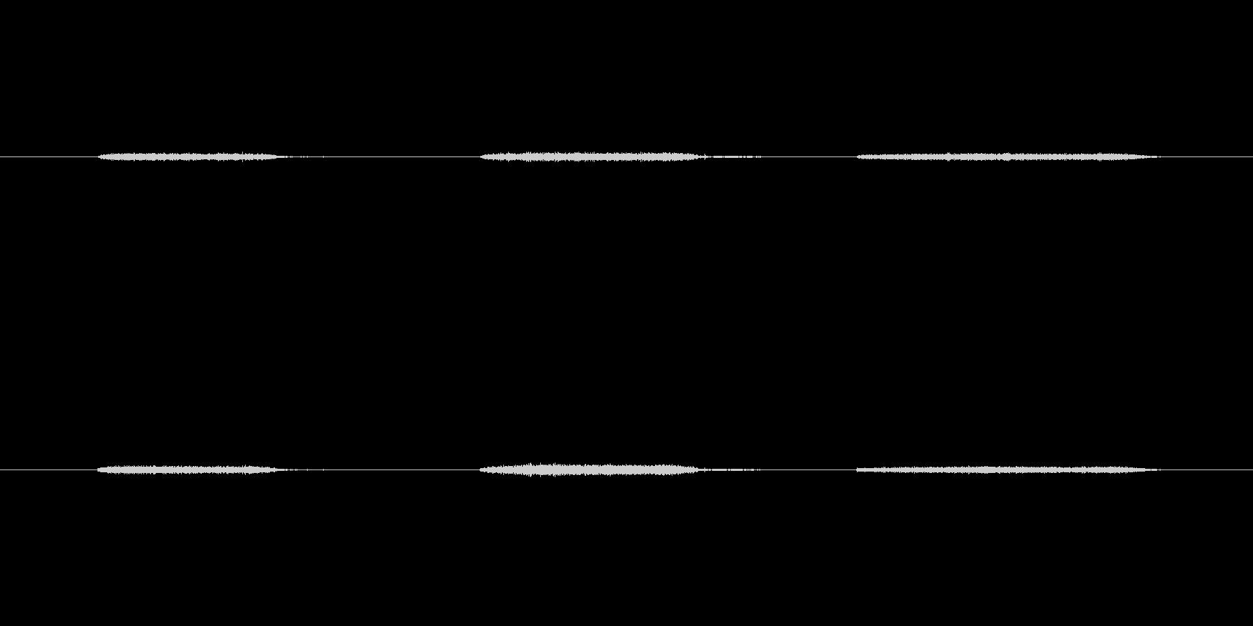 【生音】息・吹きかける - 1 「ふー…の未再生の波形