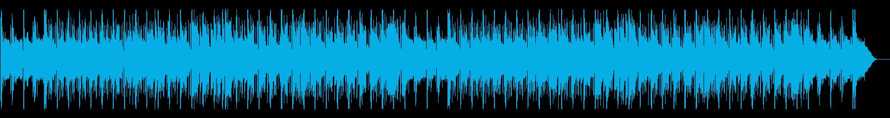 切なく少し寂し気なメロディーのBGMの再生済みの波形