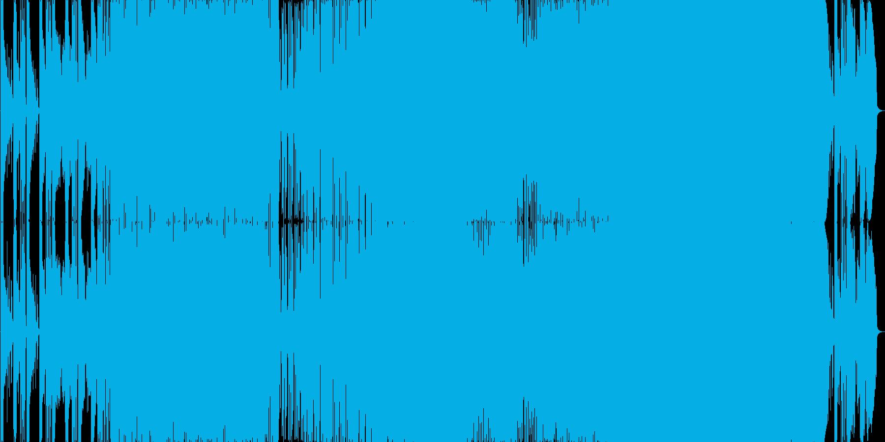 哀愁漂う生演奏曲。サビのコーラスが幻想的の再生済みの波形