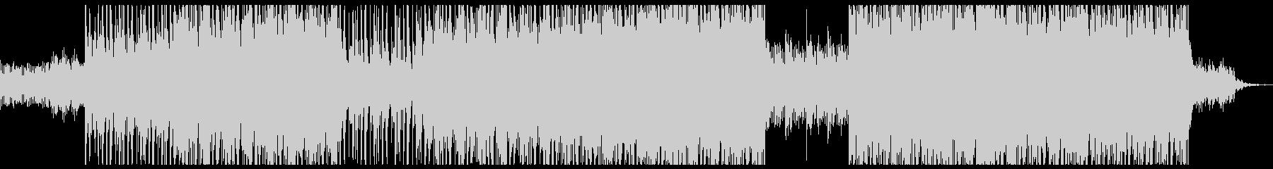 サイバー 重厚な機械イメージのロックの未再生の波形