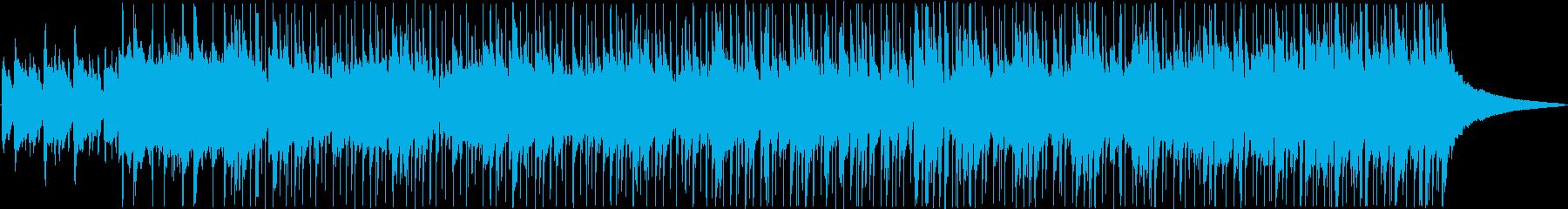 暖かな風を感じる軽快なミディアムバラードの再生済みの波形