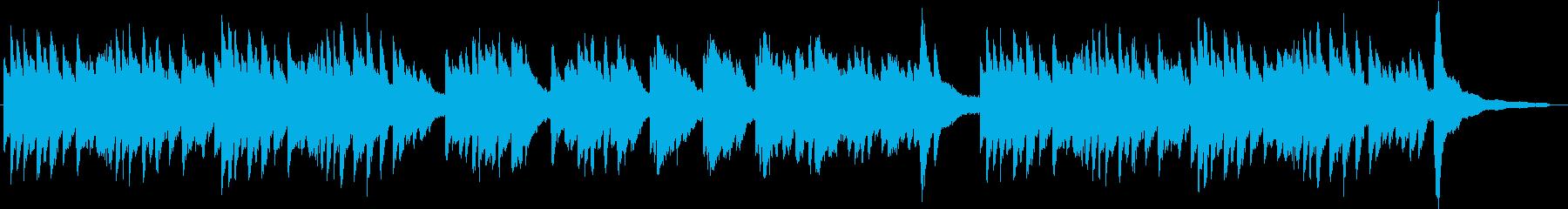 メロドラマ1(ピアノ)の再生済みの波形