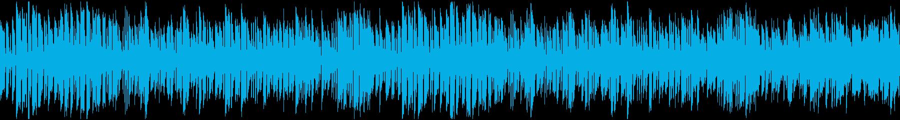 【ループ版】ほのぼのとした場面に合う劇伴の再生済みの波形