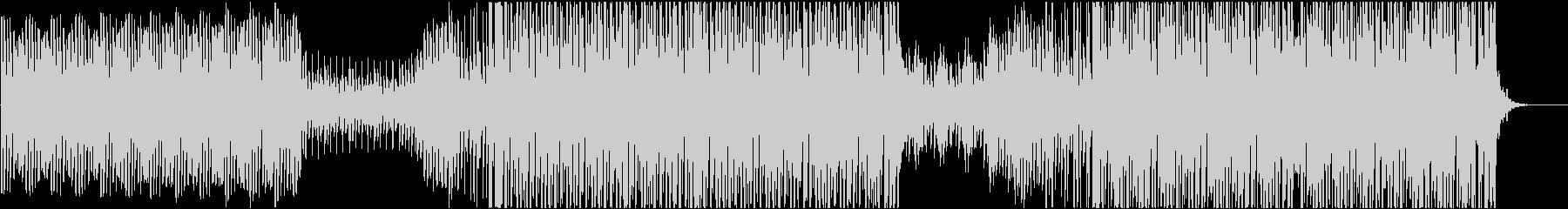 EDM おしゃれなエレクトロスウィングの未再生の波形