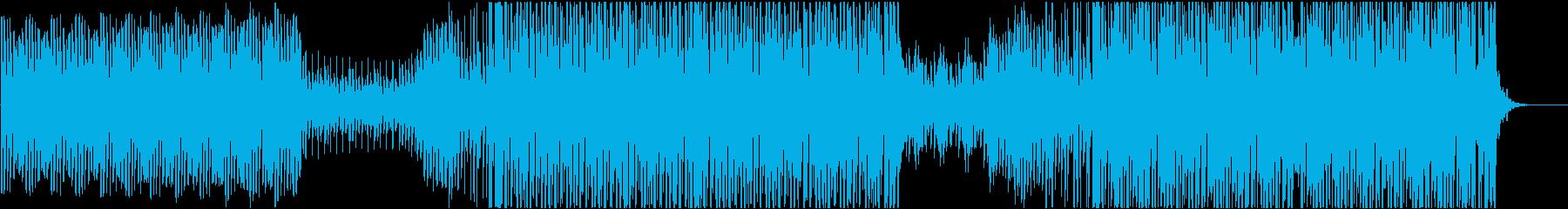 EDM おしゃれなエレクトロスウィングの再生済みの波形