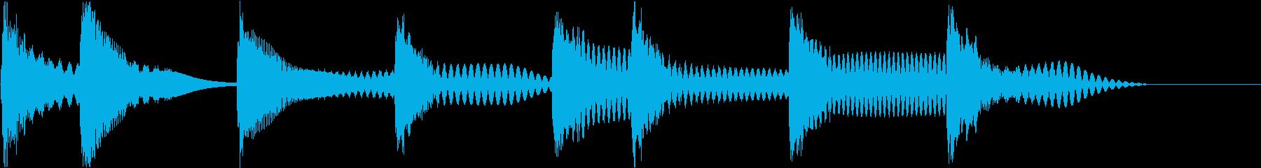 着信音 ループ お知らせ 通知 海 4の再生済みの波形