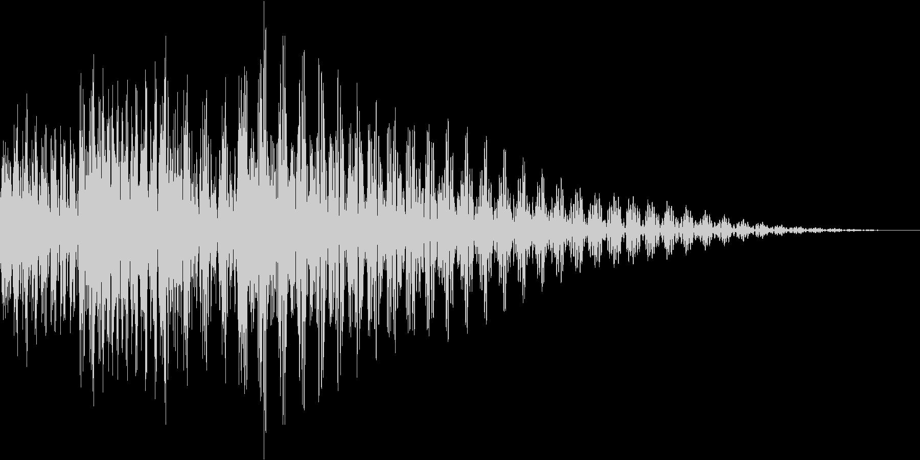ジャジャン(結果 説明 アイキャッチ)の未再生の波形