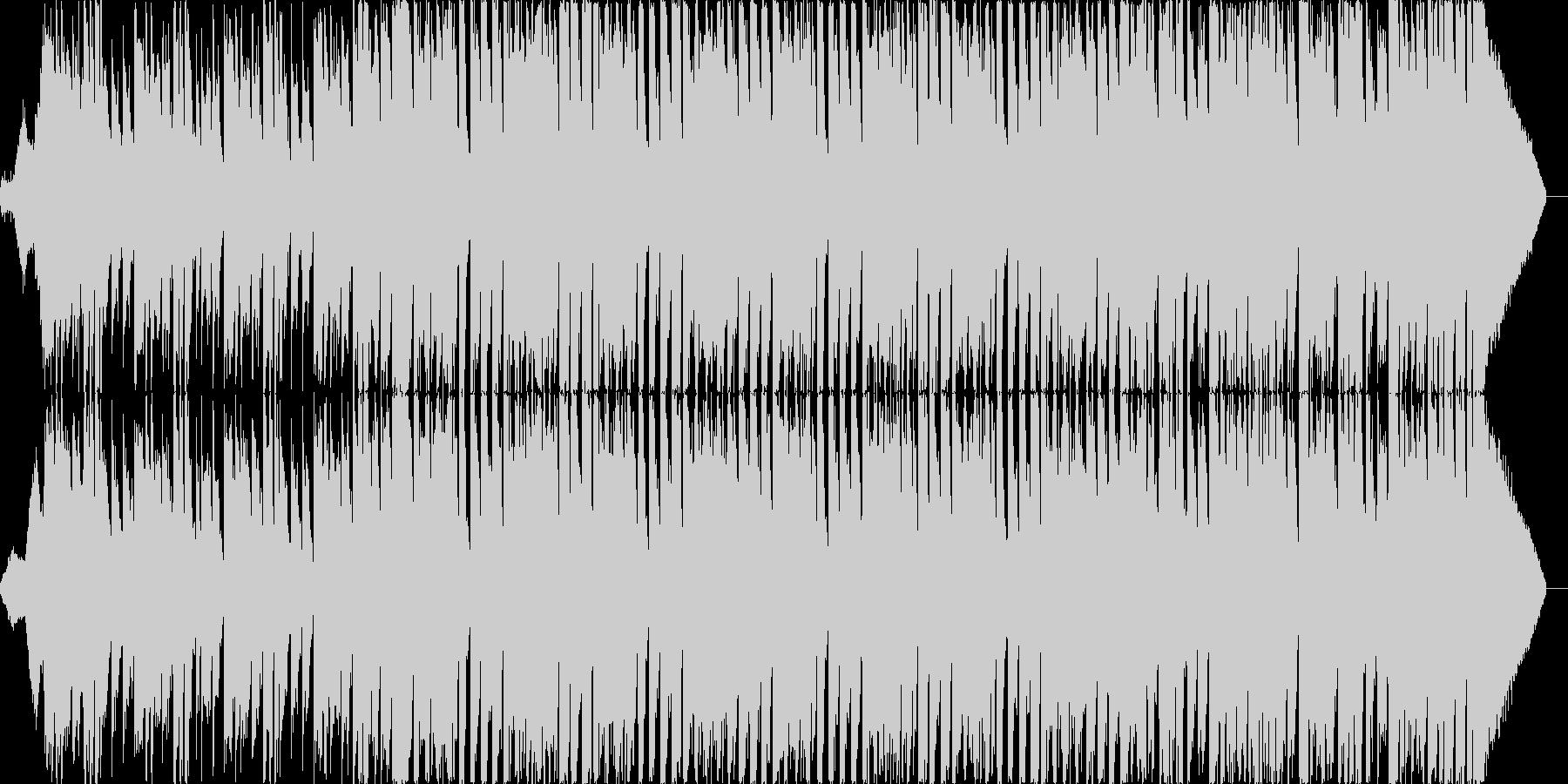 爽やか明るいエレクトロポップオープニングの未再生の波形