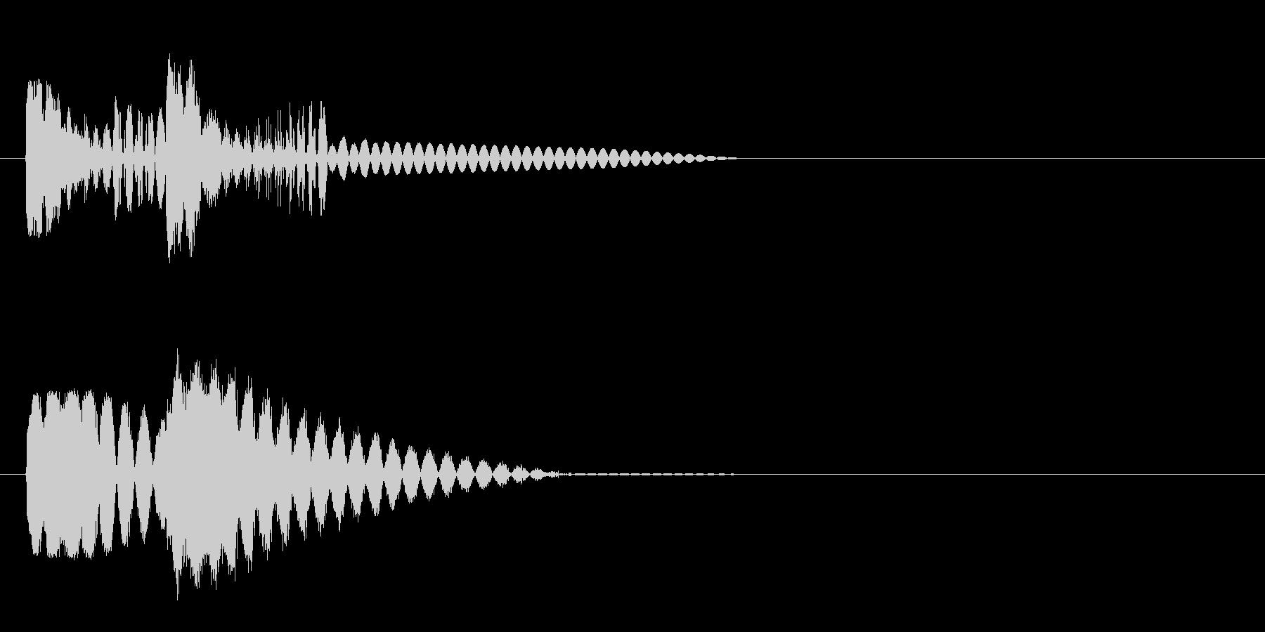 ピュピュン 射撃音4 レーザー銃などの未再生の波形