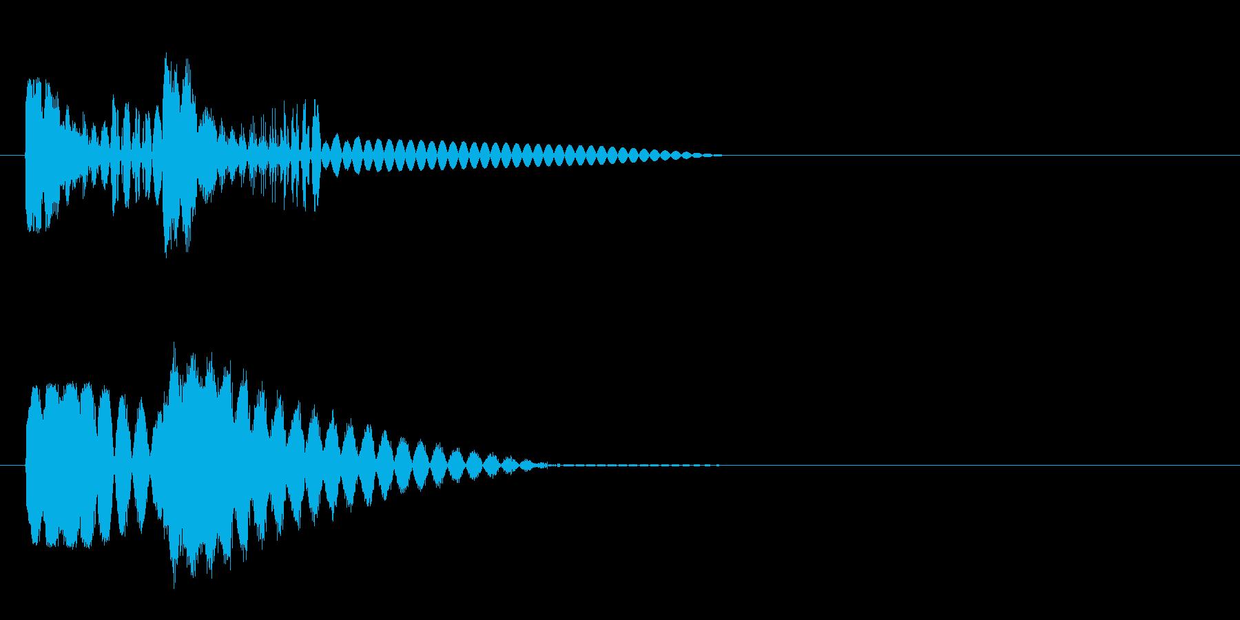 ピュピュン 射撃音4 レーザー銃などの再生済みの波形