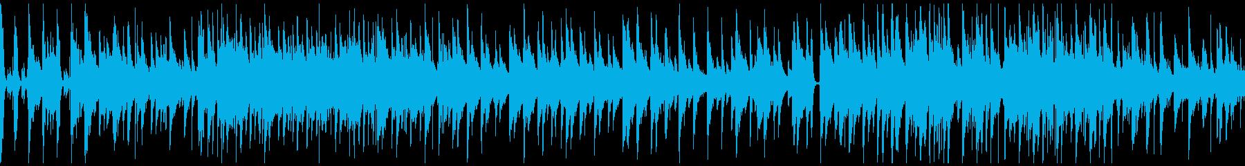 秋の切なさを想起させる軽快なジャズ楽曲の再生済みの波形