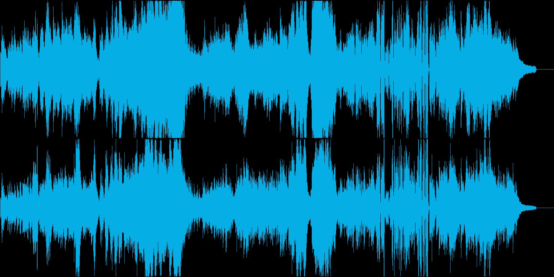 木星をイメージした優美壮大なピアノソロ曲の再生済みの波形