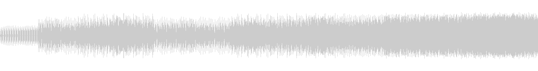 8ビットゲームサウンドBGM 04の未再生の波形