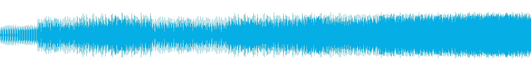 8ビットゲームサウンドBGM 04の再生済みの波形