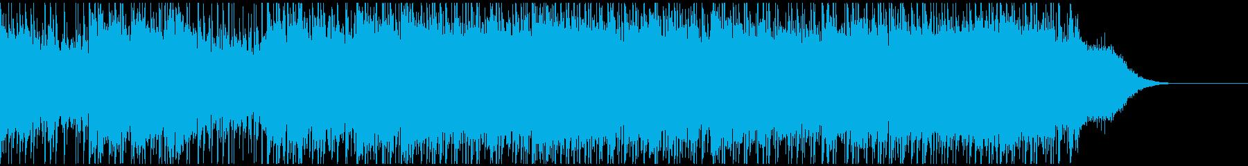 混沌とした激しいロック(ショートver)の再生済みの波形