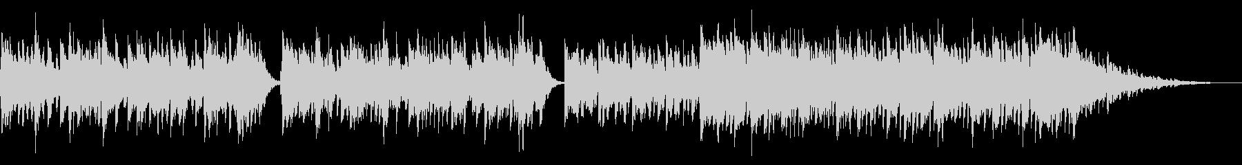 動画BGM用のピアノ曲(エレピ)の未再生の波形