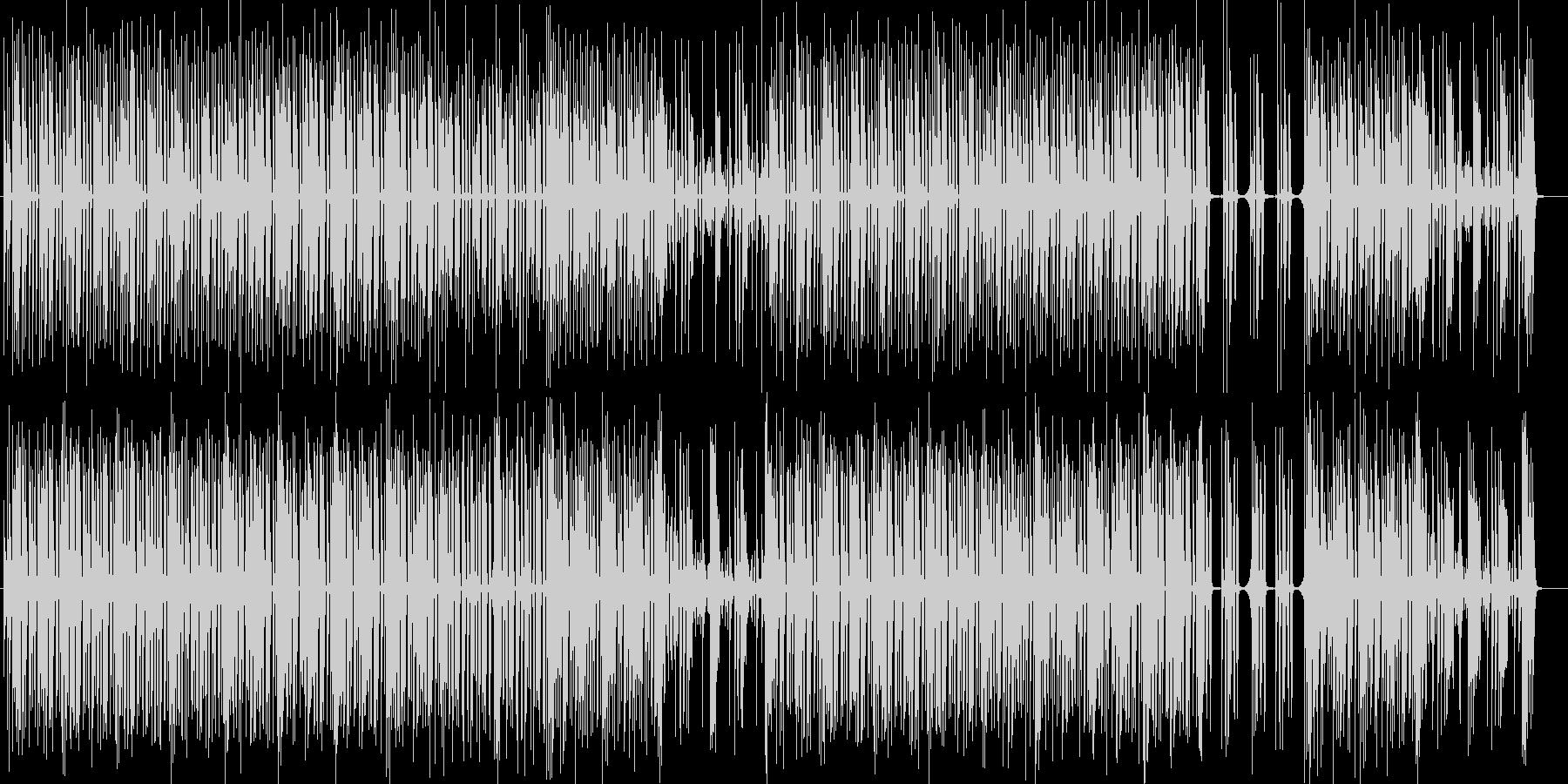サラウンド感抜群ストレンジパーカッションの未再生の波形