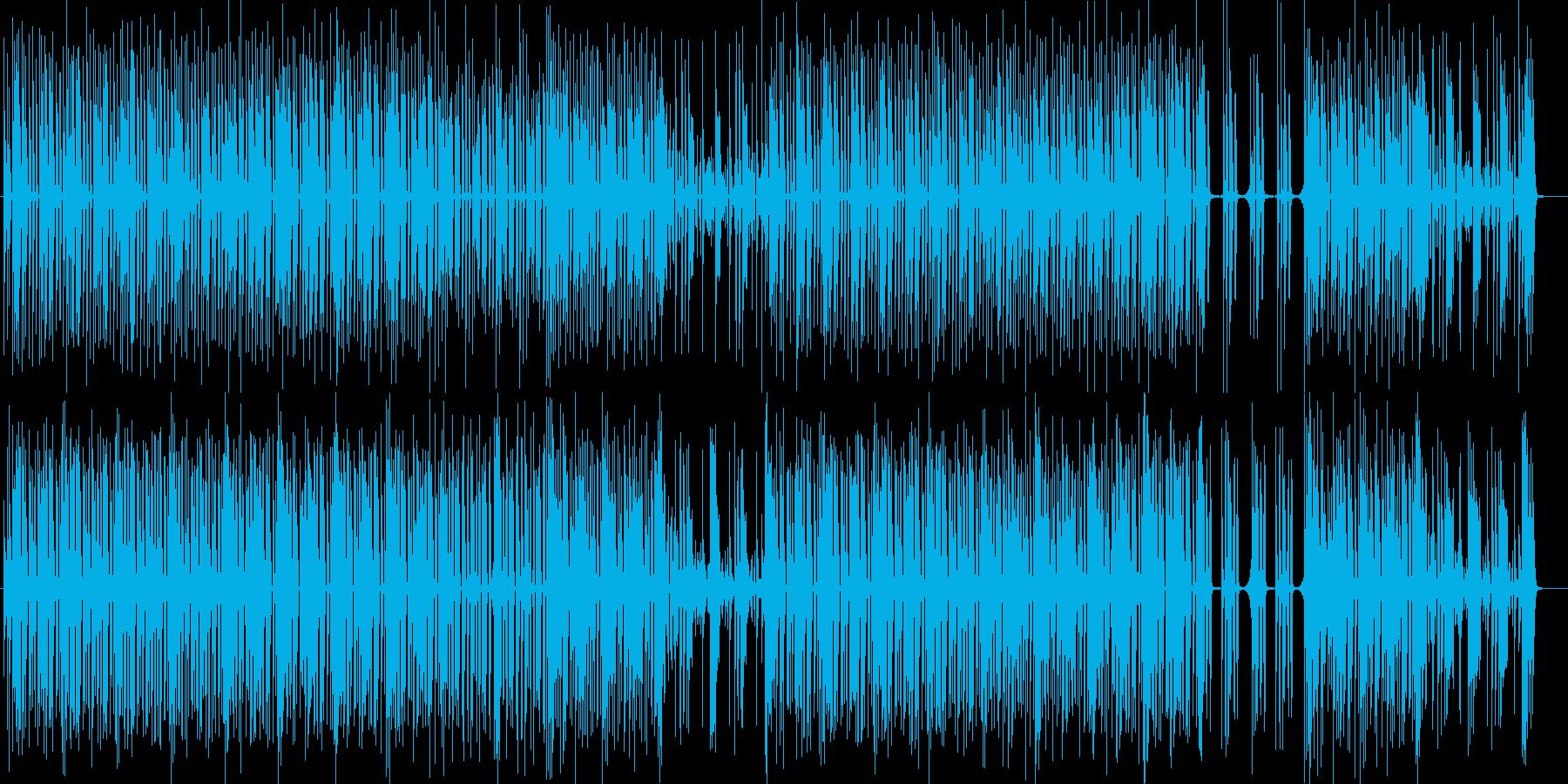 サラウンド感抜群ストレンジパーカッションの再生済みの波形