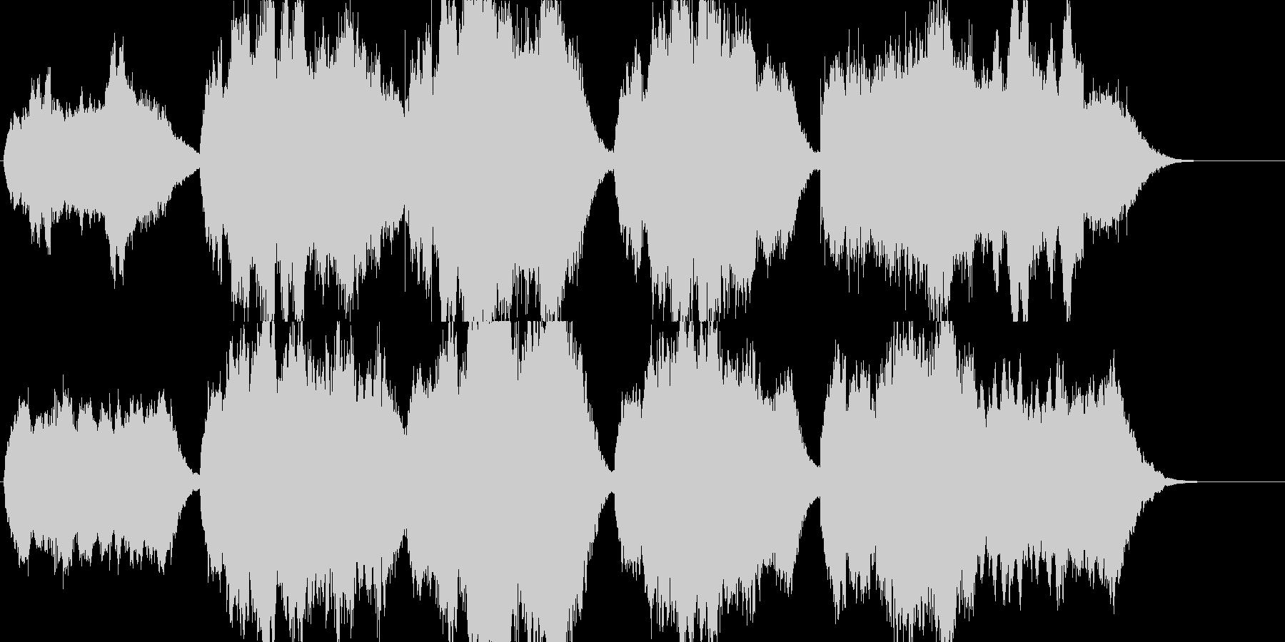 高音質♪国歌「君が代」多数バリエーションの未再生の波形