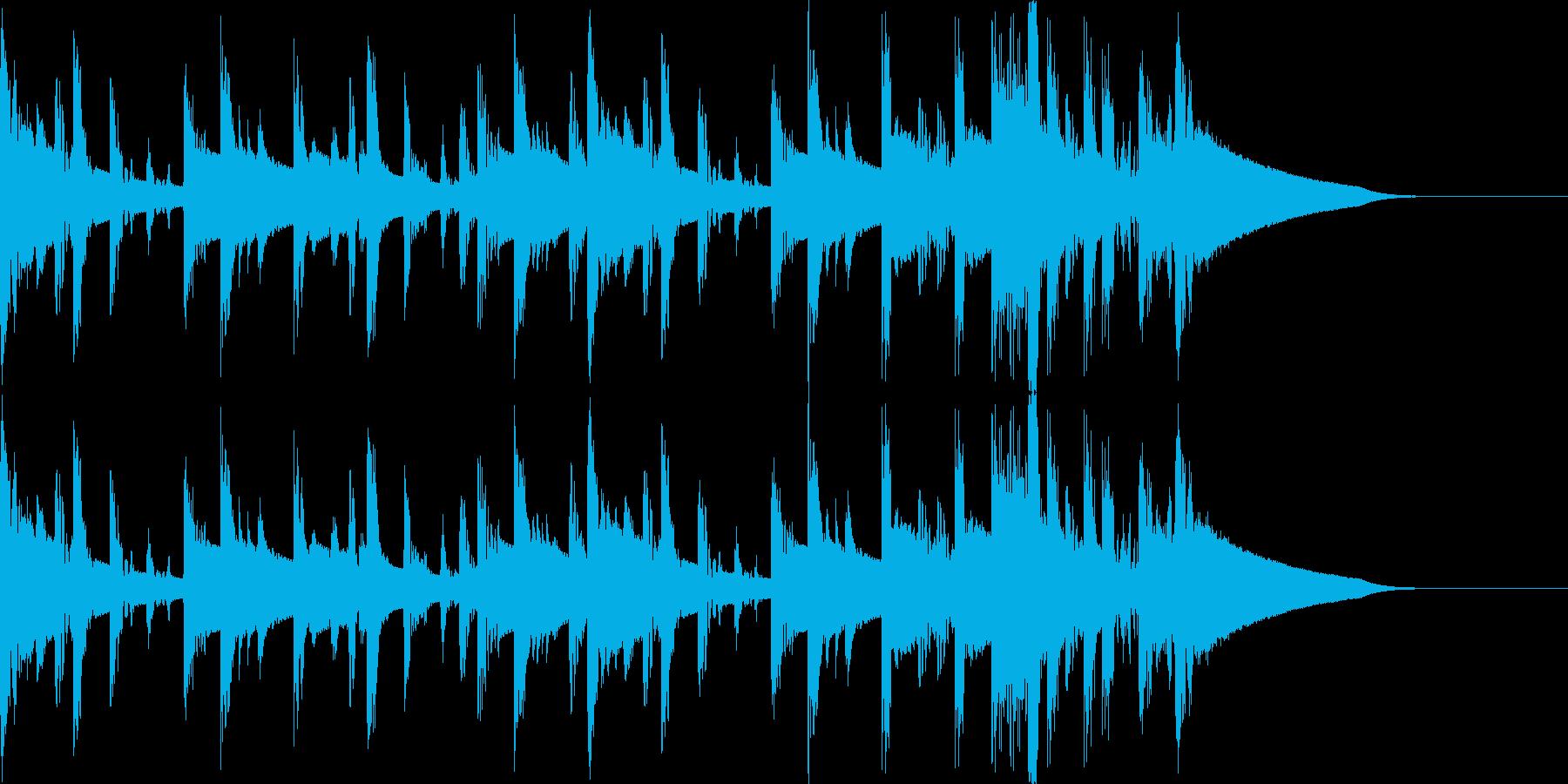 HipHopサウンドロゴ・ジングル#1の再生済みの波形