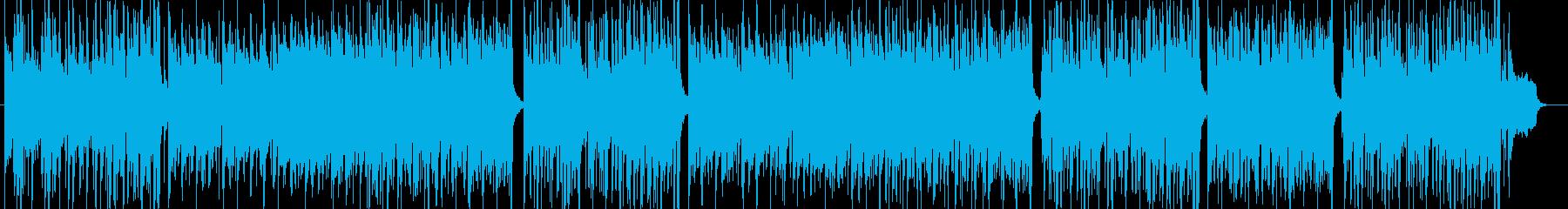 セッションによるグルーヴィーなポップスの再生済みの波形