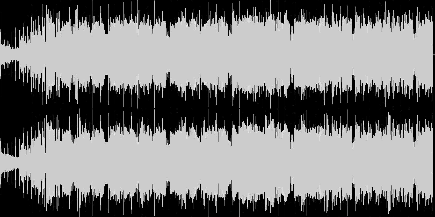 EDMクラブ系エジプト風Dubstepの未再生の波形