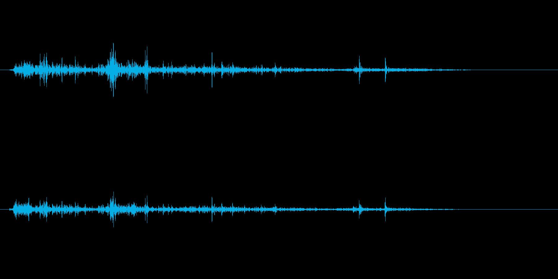 ゴリゴリゴリ(物音)の再生済みの波形