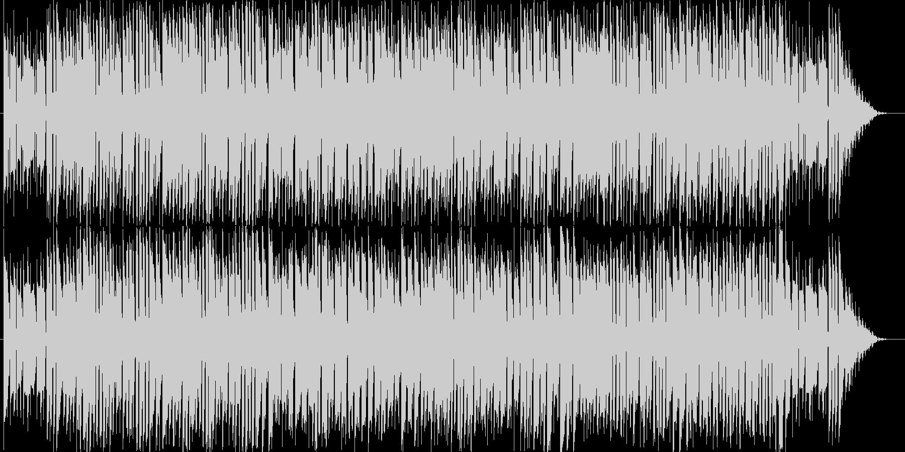 テーマパークのバックで流れてそうな楽曲…の未再生の波形