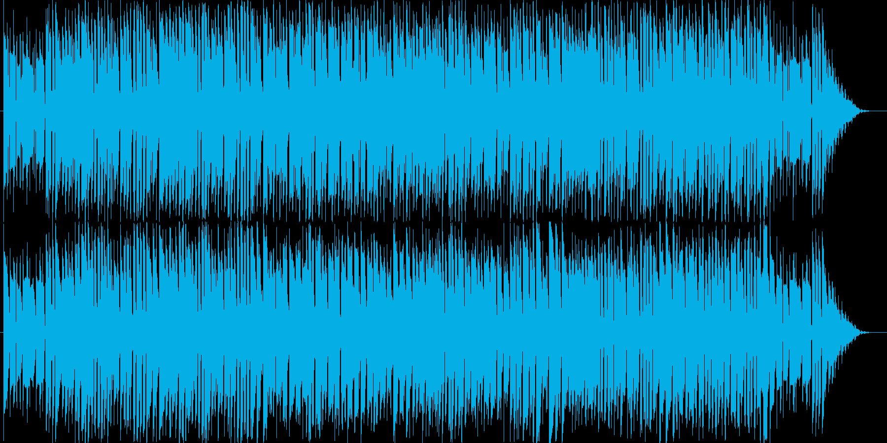 テーマパークのバックで流れてそうな楽曲…の再生済みの波形