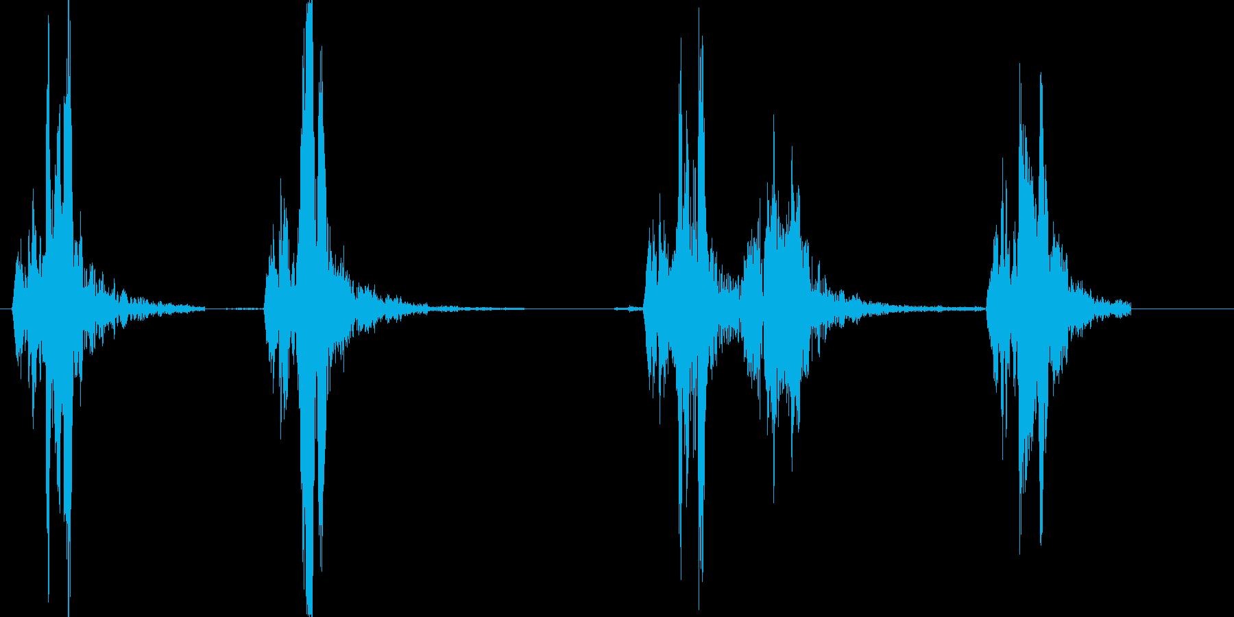 スズメの鳴き声です_チュンチュンの再生済みの波形