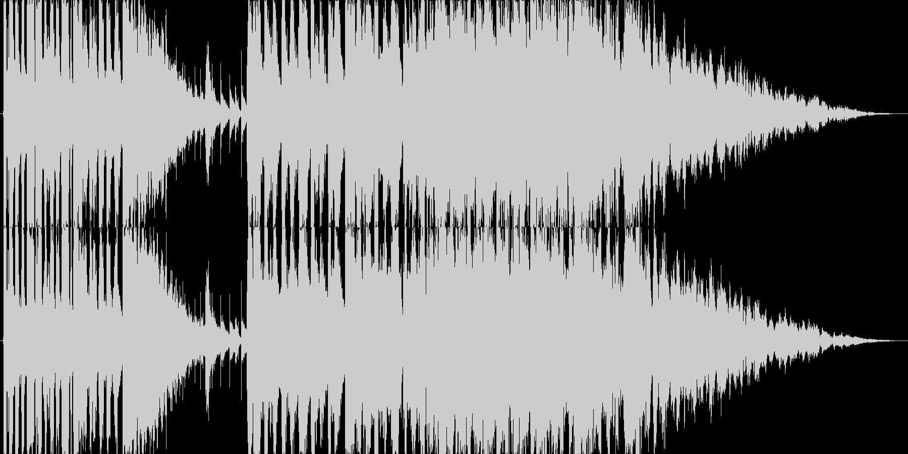 南国のファンファーレ(オープニング向け)の未再生の波形
