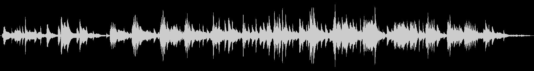 オリエンタル/優雅/ピアノ生演奏の未再生の波形